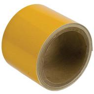 Brady 78988 Reflective Stripes Checks & Color Tape - 3 W X 5 Yds - Yellow-1