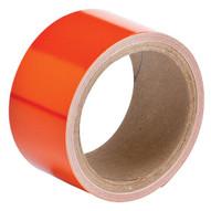 Brady 78989 Reflective Stripes Checks & Color Tape - 2 W X 5 Yds. - Orange-1
