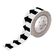 Brady 91409 Arrow Tape - 4 X 30 Yds - Black On White-1