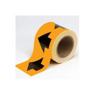 Brady 91410 Arrow Tape - 4 X 30 Yds - Black On Orange-1