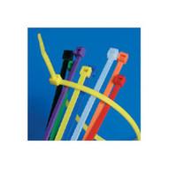 Brady 98855 Yellow Nylon Ties - 8 - Yellow-1
