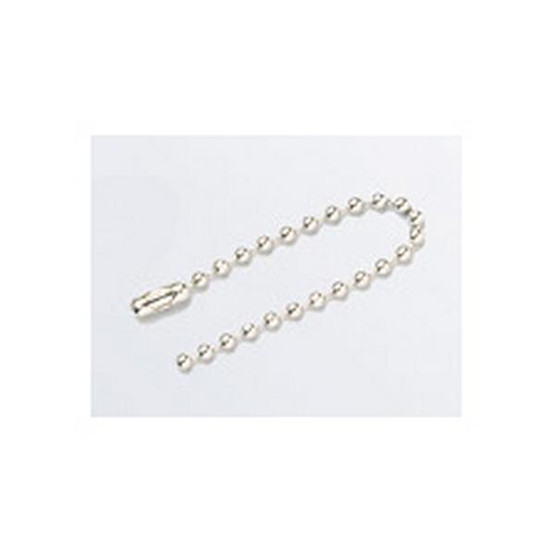 Brady 98857 #6 Stainless Steel Beaded Chain - 4 1 2-1
