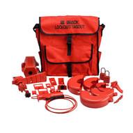 Brady 99687 Combination Lockout Satchel W Safety Padlocks & Tags-1