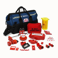Brady 99691 Combination Lockout Duffel With Steel Padlocks & Tags-1