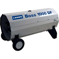 LB White Boss 1000 DF 1000000 Btuh Duel Fuel LPGNG Direct-Fired Portable Heater-4