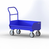 Jescraft CCL-5027-7 Low-profile Chip Cart with Side Scoop - 7.2 CU FT