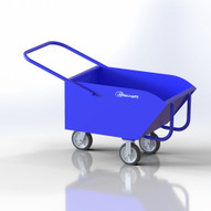Jescraft CDC-5826-8 Low-profile Chip Dump Cart with Rockers