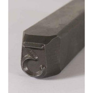 C.H. Hanson 21151M 38'' Heavy Duty Grade Steel Individual Letter M-4