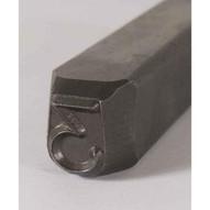 C.H. Hanson 21201M 12'' Heavy Duty Grade Steel Individual Letter M-1