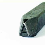 C.H. Hanson 22750H 1'' Premier Grade Steel Individual Letter H-2