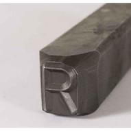 C.H. Hanson 25000U 132'' Premier Grade Reversed Steel Individual Letter U-1