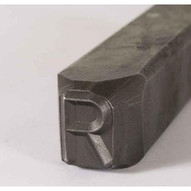 C.H. Hanson 25300M 14'' Premier Grade Reversed Steel Individual Letter M-4