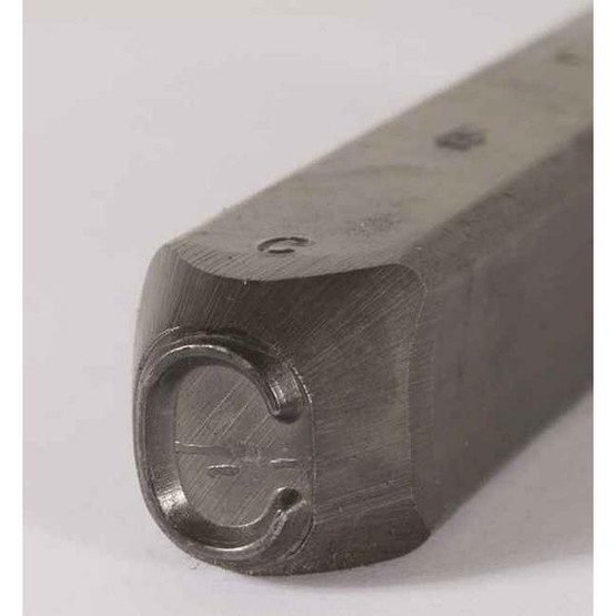 C.H. Hanson 257500 332'' Premier Grade Round Face Low Stress Steel Individual Number 0-4