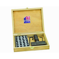 C.H. Hanson 27782 1 4'' Type Holder And 40 Piece Kit (12 Character Capacity)-3