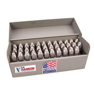 C.H. Hanson 29200 14 Stainless Steel Letter Set-3