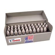 C.H. Hanson 29375 38 Stainless Steel Letter & Number Set-3