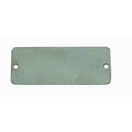 C.H. Hanson 41273 1 X 2 Stainless Steel Rectangle W Rounded Corners Blank Tags 100 Pk-1