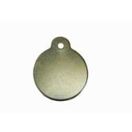 C.H. Hanson 41388 1-14 Diameter Stainless Steel Round W Ear Blank Tags 100 Pk-1