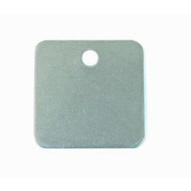C.H. Hanson 41431 1-14 Aluminum Square Blank Tags 100 Pk-1