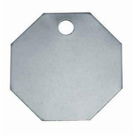 C.H. Hanson 41518 1-164 Stainless Steel Octagon Blank Tags 100 Pk-1