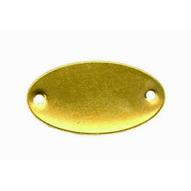 C.H. Hanson 41742 1 X 1-78 Brass Oval Blank Tags 100 Pk-1