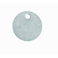 C.H. Hanson 41841 1-14 Diameter Aluminum Round Blank Tags 100 Pk-1