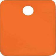 C.H. Hanson 43034 2 Anodized Aluminum-orange Square Blank Tags 5 Pk-1