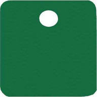 C.H. Hanson 43088 1 Anodized Aluminum-green Square Blank Tags 5 Pk-1