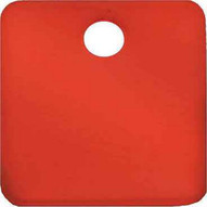 C.H. Hanson 43156 1-12 Anodized Aluminum-red Square Blank Tags 5 Pk-1
