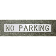C.H. Hanson 70004 24x12 Character No Parking Sign-1