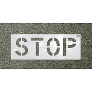 C.H. Hanson 70065 48x16 Character Stop Sign-1