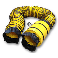 Pearson Industries BAG-O-DUCT-1225 12 x 25' Duct w Attached Carrying Bag-3