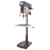 Palmgren 9680209 20 16- Speed Floor Step Pulley 1ph Drill Press-1