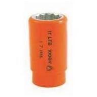 C.H. Hanson USC01340 9mm Insulated Socket (12 Square Drive)-1