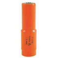 C.H. Hanson USC01421 17mm Insulated Long Reach Socket (12 Square Drive)-1