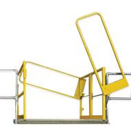 Fabenco CH15-64PC MZ SERIES – CLEAR HEIGHT MEZZANINE SAFETY GATES 00