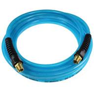 Coilhose Pneumatics Pfe5025-15x-t Flexeel Hose 516 Id X 25' 14 Industrial Reinforced Poly Straight Hose - Transparent Blue-1