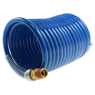 Coilhose Pneumatics S38-25b 3 8 Id X 25' 3 8 Mpt Swivel Stowaway Hd Nylon Air Hose Coiled Hose-1