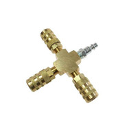 Coilhose Pneumatics X004-15X-DPB Cross Manifold Assembly 6-point Industrial Interchange Display-1