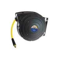 Coilhose Pneumatics YBREEL60504Y Yellow Belly Hybrid PVC Hose Reel 38 ID x 50' 14 MPT-1