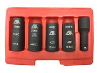 CTA Manufacturing 1463 5 Pc. Flip Socket Set 12 Dr-1