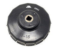 CTA Manufacturing 3863 93 X 15 Cup Oil Filter Wrench-1