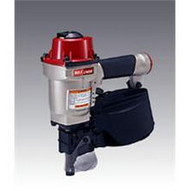 Max USA CN55 Superheavy-Duty Industrial Coil Nailer Drives From 1 X .083 Up To 2-1 4 X .092 Flat Wire Welded Nails-1