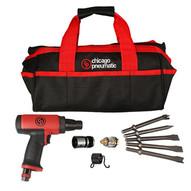Chicago Pneumatic 8941071601 Short Shank Low Vibration Airhammer Kit-1