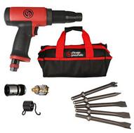 Chicago Pneumatic 8941071651 Long Shank Low Vibration Airhammer Kit-1