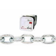 Campbell 0143526 516 Grade 30 Proof Coil Chain Zinc Plated 75' Per Square Pail (MOST POPULAR)-1