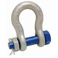 Campbell 5391035 5 8 Anchor Shackle Bolt Type Forged Carbon Steel Galvanized-1
