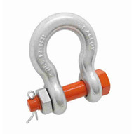 Campbell 5392495 1-12 Alloy Anchor Shackle Bolt Type Forged Alloy Galvanized-1