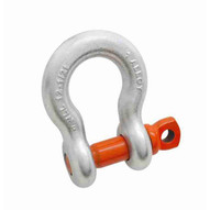 Campbell 5411095 58 Alloy Anchor Shackle Screw Pin Forged Alloy Galvanized-1