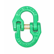 Campbell 5779235 38 Quik-alloy Coupling Link Grade 100 Painted Green-1